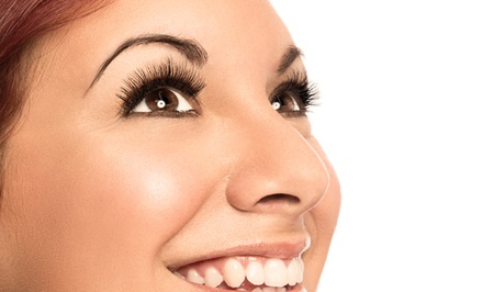 Full Set of Eyelash Extensions at The Lash Lounge (Up to 51% Off). Choose from Four Options.