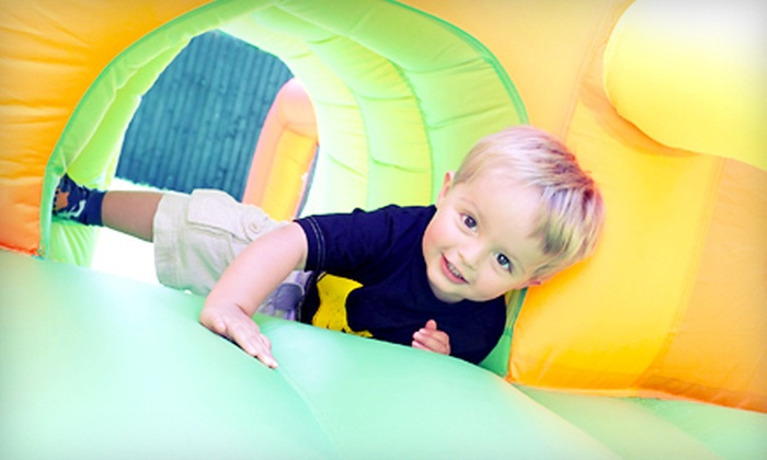 Monkey Joe's - Pottstown: Bounce-House Play Time and Small Drinks for Two or Four Kids at Monkey Joe's (Up to 54% Off)