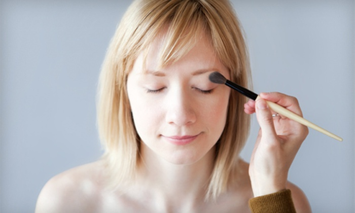 Let's Make Up - Livingston: Cosmetics or Full Makeover Including Application and Lesson at Let's Make Up (Half Off). Three Options Available.