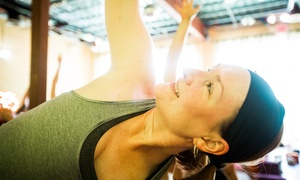 10 Class Pass Or One Month Unlimited Yoga Classes At Dancing Dogs Yoga - Savannah (up To 65% Off)