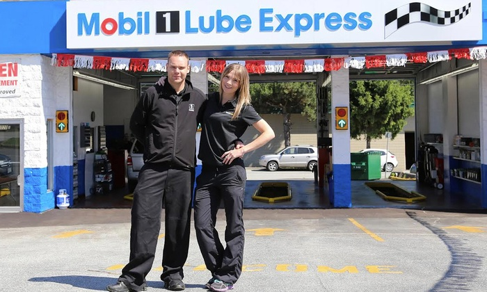 Mobil 1 Lube Express - Port Moody - Port Moody: One Oil Change at Mobil 1 Lube Express (45% Off)