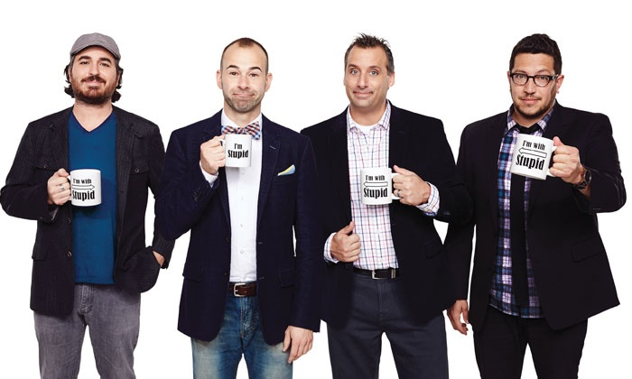 """Impractical Jokers """"Where's Larry"""" Tour - Bayou Music Center: Impractical Jokers: """"Where's Larry"""" Tour at Bayou Music Center on Sunday, March 8, at 7:30 p.m. (Up to 39% Off)"""