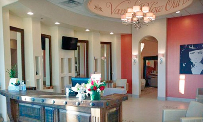 Vanity Blowout Bar - North Scottsdale: Blowout and Deep Conditioning with Optional Moisturizing Hand Treatment at Vanity Blowout Bar (Up to 55% Off)