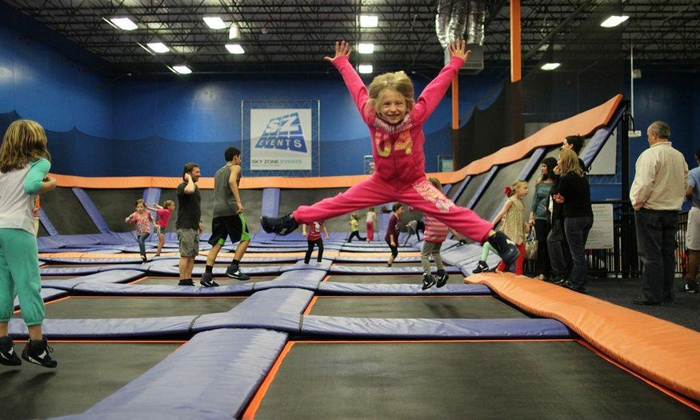 Sky Zone - Kennesaw: Jump-Time Package for Two at Sky Zone (Up to 50% Off). Two Options Available.