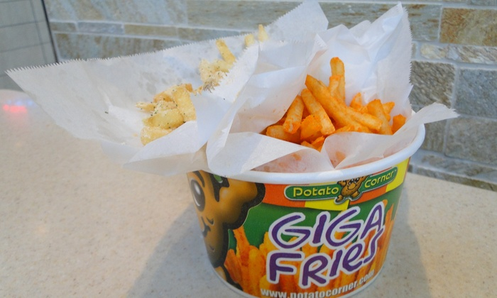 Potato Corner- Henderson - Henderson:    $9 for Three Groupons, Each Good for $5 Worth of Fries & Fry Combos ($15 Total Value) at Potato Corner-Henderson