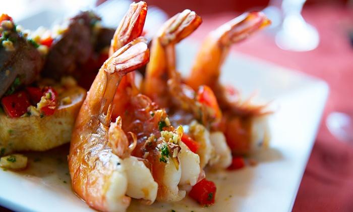 MR CICCIO' - MR CICCIO': Antipasto di crudi di pesce, primo, secondo e dolce a scelta per 2 persone al ristorante Mr Cicciò (sconto 42%)