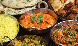 Naan N Curry: One Entree with Purchase of Three Entrees at Naan N Curry