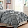 Monica Pintucked Comforter Set