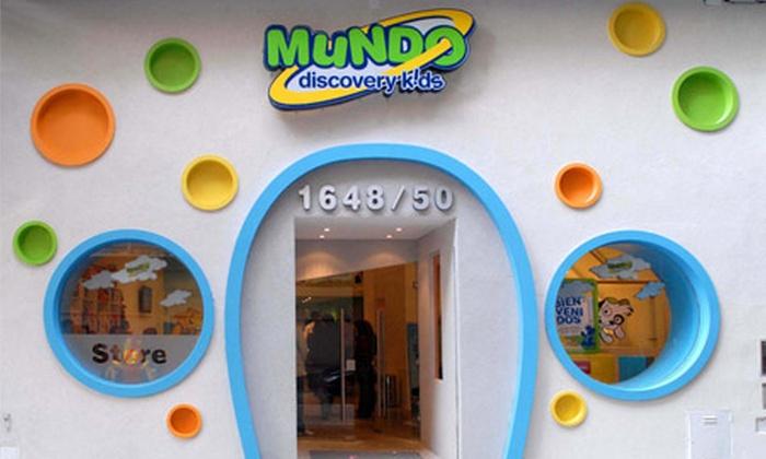 Mundo Discovery Kids - Mundo Discovery Kids : $99 en vez de $200 por pase de 2 horas de juego + merienda para todos los días en Mundo Discovery Kids