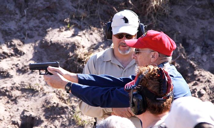 Florida Firearms Training - Multiple Locations: Introductory Handgun, Rifle, or Shotgun Class at Florida Firearms Training (45% Off)