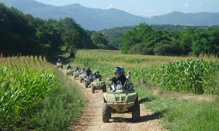 Randonnée en quad d1h ou de 2h au Pays Basque avec briefing et photos pour 2 personnes dès 69,90 € avec Quad e Nature