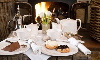image for Afternoon Tea with Optional Prosecco for Two or Four at Calverley Golf Course