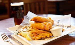 The Thirsty Lion Tavern: Pub Food and Drinks at The Thirsty Lion Tavern (50% Off). Two Options Available.