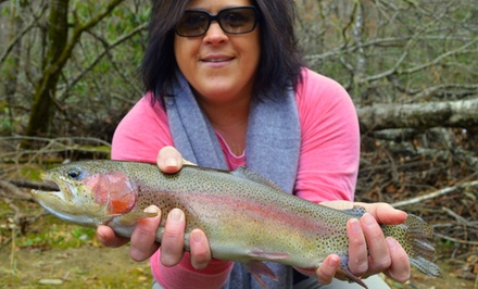 Five-Hour Guided Fly-Fishing Trip for Two or Four from Fly Fishing the Smokies (Up to 53% Off)