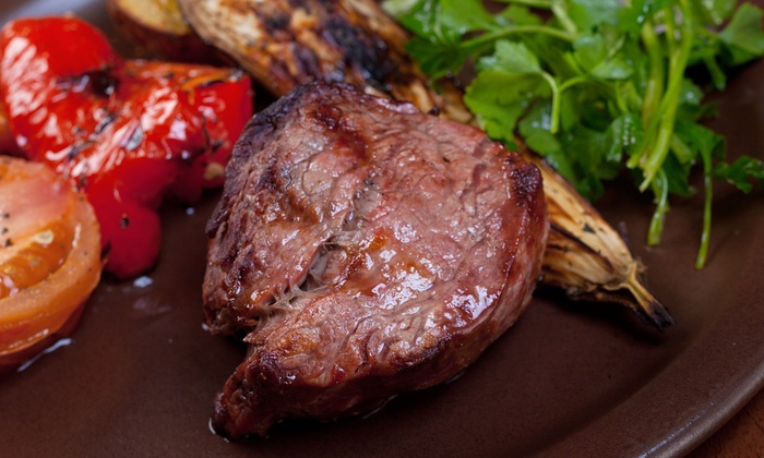 Blue Charcoal - Northrich: Brazilian Steakhouse Dinner for Two or Four at Blue Charcoal (47% Off)
