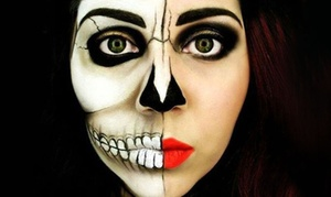 YH Studios: Halloween Photoshoot Package with Face Paint and CD at YH Studios