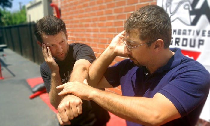 LA Combatives Group - Burbank: 6 or 12 Self-Defense Essentials Classes at LA Combatives Group (Up to 67% Off)