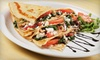 Cream of the Crêpe - Previous Information - Park Ridge: Crepes and Drinks for Two or Four at Cream of the Crêpe (Up to 53% Off)