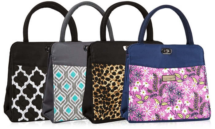 Perfect Fit U0026 Fresh Ladies Downtown Insulated Lunch Bag (Womens Thermal Tote/Cooler) NWT
