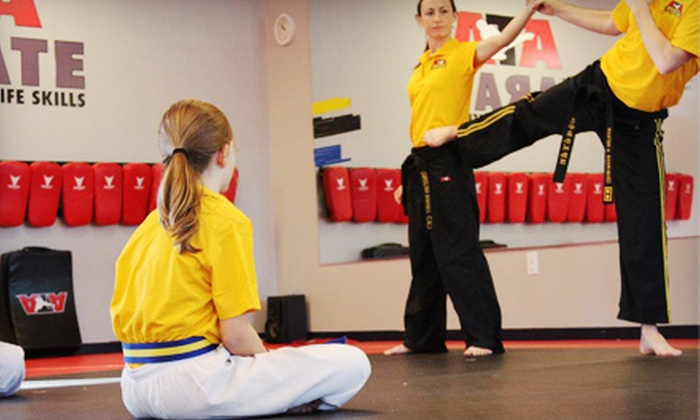 ATA Karate - Multiple Locations: Karate Classes, Krav Maga Classes, or Karate Birthday Party at ATA Karate (Up to 76% Off)