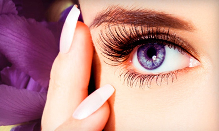Trieva's Spa & Boutique - Lynnwood: Full Set of Mink Eyelash Extensions with Option of Eyebrow Wax at Trieva's Spa & Boutique (65% Off)