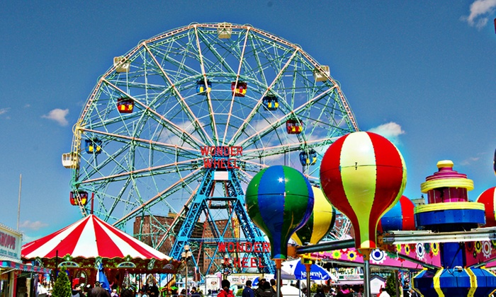 Taste Of The City - Multiple Locations: Up to 50% Off Coney Day Island Day Trip at Taste Of The City