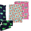 Sealed Wet Bag, Reusable Snack & Everything Bag, & 2 Reusable Bags