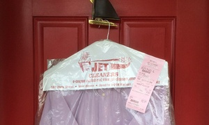 Jet Cleaners: $25 for $50 Worth of Dry Cleaning Pickup and Delivery from Jet Cleaners