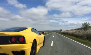 Golden Moments: 20- or 45-Minute Ferrari Motorway Driving Experience at Golden Moments (Up to 64% Off)