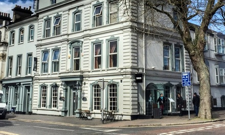 Belfast: 1 or 2 Nights for two with Breakfast and Late CheckOut at The Crescent Townhouse