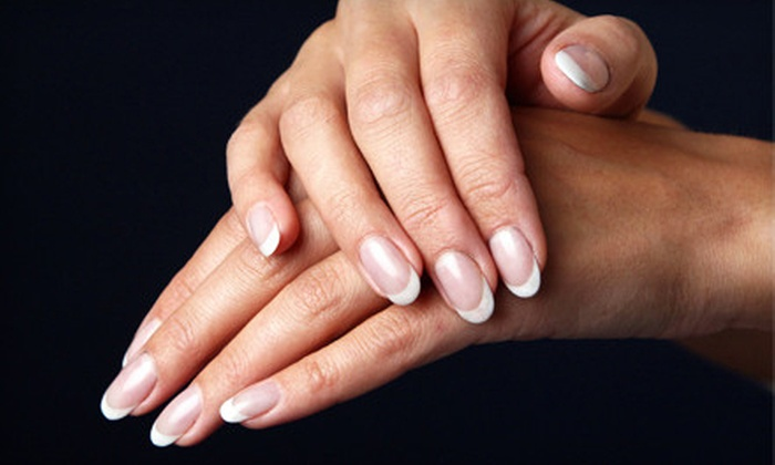 Natural Nails by T - Mapleton - Fall Creek: Regular Mani-Pedi, Shellac Mani-Pedi, or Shellac Mani-Pedi with Wine and Chocolate at Natural Nails by T (Up to 55% Off)