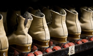 Kate's Skating Rink: Skate Rental and Admission for 2 or 4  at Kate's Skating Rink (Up to 61% Off)
