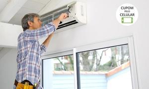 Split Lar: Split Lar - limpeza higiênica e revisão geral de ar-condicionado split (opção com colocação de gás)