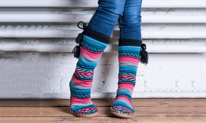 Muk Luks Womens Slipper Socks Muk Luks Womens Slipper