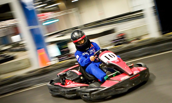 Grand Prix New York - Valhalla: Go-Karting Package for a Child, Teen, or Adult at Grand Prix New York (Up to 43% Off)