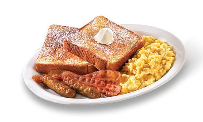 Denny's - Multiple Locations: Diner Food at Denny's (Up to 47% Off). Two Options Available.