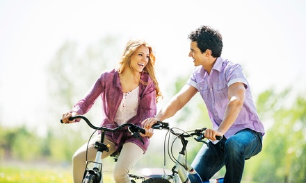 All-Day Bike Rental for Two or Four or a Pedal Paddle Tour for One or Two from Katy Bike Rental (Up to 50% Off)