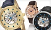 Up to 84% Off Stuhrling Skeleton Watches