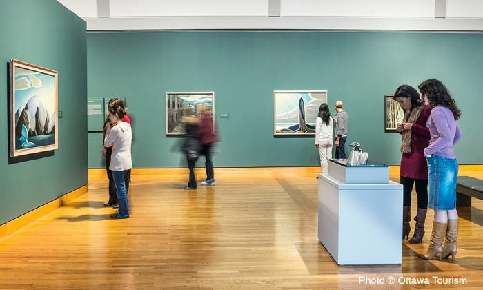 The National Gallery of Canada - Byward Market - Parliament Hill: One-Year Individual or Family Membership to The National Gallery of Canada (50% Off)