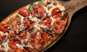 'Pizza Lounge: Artisan Pizza, Pasta, and Sandwiches1_b@b_1Pizza Lounge (Up to 40% Off)' from the web at 'https://img.grouponcdn.com/deal/cUk16Qmztg6cFPQEsFyi/S6-5616x3370/v1/t300x182.jpg'