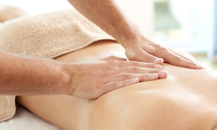 55-Minute Massage at Elements Therapeutic Massage (Up to 51% Off)