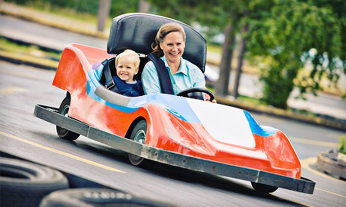 Keansburg Amusement Park - Keansburg: Unlimited Rides Plus Go-Kart Rides for One, Two, or Four at Keansburg Amusement Park (Up to 55% Off)