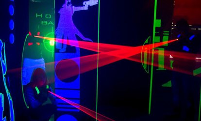 Three Games of Laser Tag for One, Two or Four at Teamworks Karting, Two Locations (Up to 58% Off)