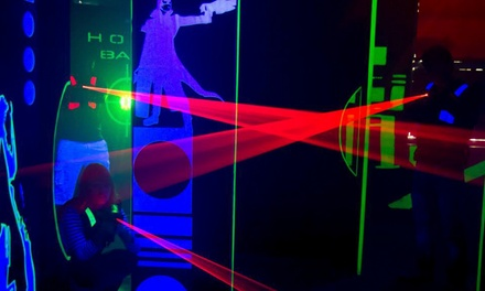 Three Games of Laser Tag for One, Two or Four at Teamworks Karting and Laser Tag (Up to 73% Off)