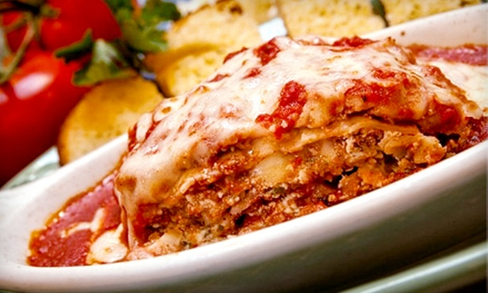 Paninos - Downtown Colorado Springs: Italian Cuisine for Two or Four at Paninos (Half Off)