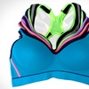 Regular and Plus-Size Sports Bras (6-Pack)