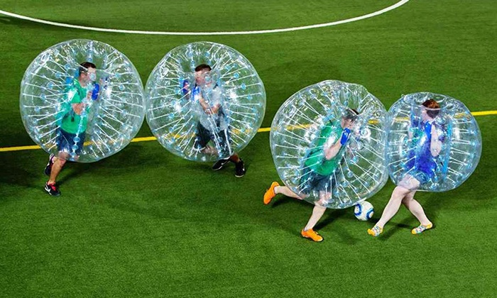 Bubble Soccer Charlotte - Bubble Soccer Charlotte: 60-Minute Bubble Soccer for Up to 8 or Birthday-Party Package at Bubble Soccer Charlotte (Up to 38% Off)
