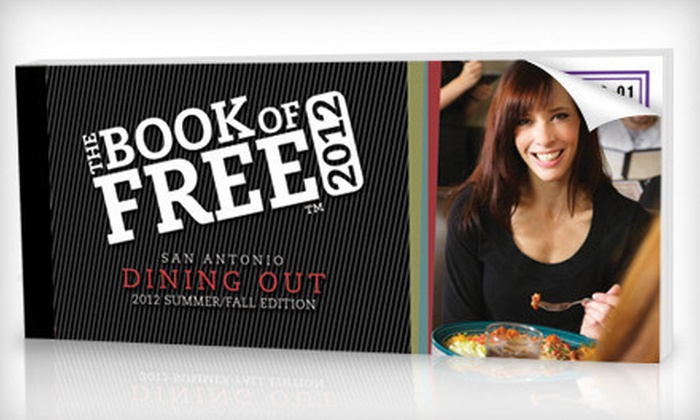 Book of Free: $29 for The New Book of Free: Dining Out Edition Certificate Book Including Shipping ($64.99 Value)