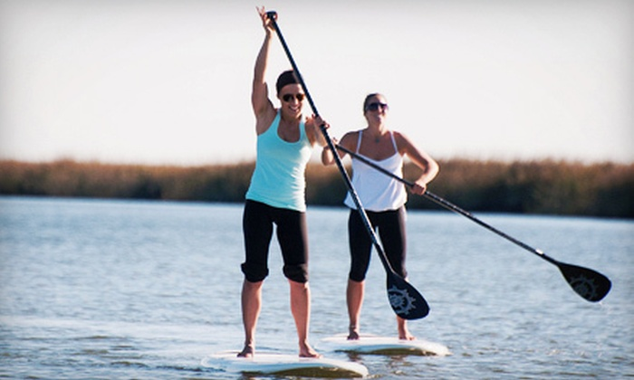 AOK Watersports - Tybee Island: Paddleboard Activities or Class from AOK Watersports in Tybee Island (Half Off). Three Options Available.