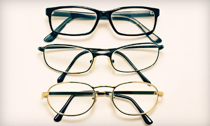 Mers Optical - Hialeah: Prescription Glasses with Optional Eye Exam at Mers Optical (Up to 83% Off)